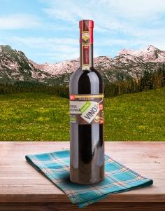 Domaće vino aronija i borovnica - 750ml