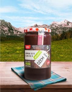 Džem šljiva60% aronija40% Brskovski 800g PREMIUM