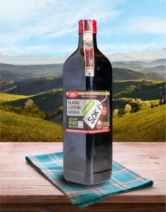 Hladno cijeđeni sok Aronija 750ml PREMIUM