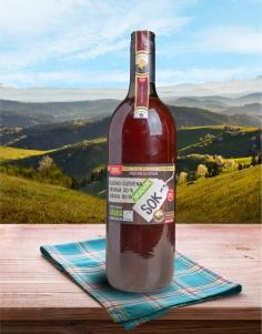 Hladno cijeđeni sok Aronija20% Jabuke80% PREMIUM