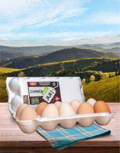 Jaja domaća - Cerovska 10 kom