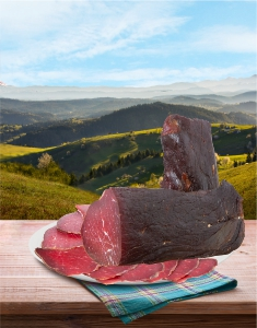Pršuta goveđa prva klasa - Planinska 500gr