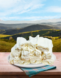Rolovani lisnati sir - Kolašinski 500gr