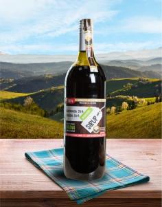 Sirup Borovnica70% - Jagoda30% 1l - PREMIUM