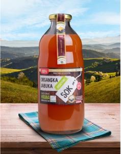 Organski sok od jabuke 1l - PREMIUM